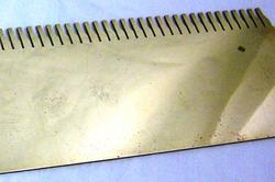 【レーザー加工のベルテックレーザ株式会社】「真鍮」ノコギリです。